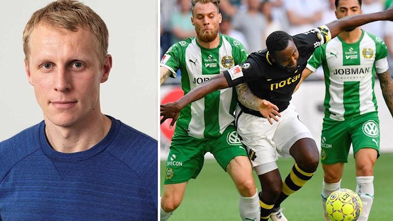 Richard Henriksson derby AIK Hammarby