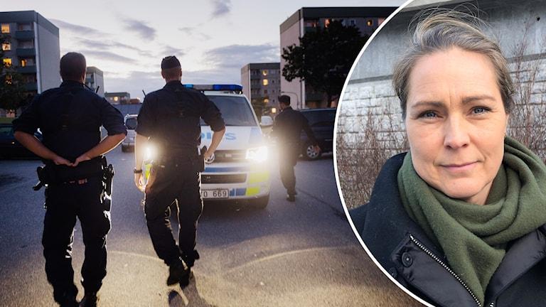 Malin Sundström blev utbränd av jobbet som polis.
