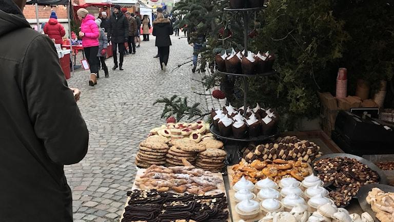 Julmarknaden i Haga