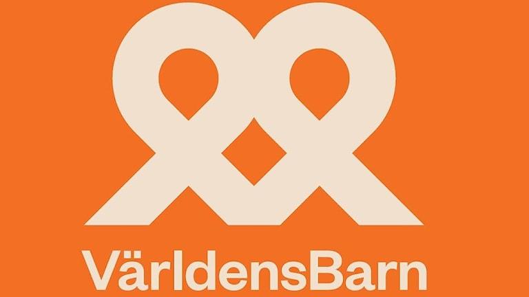 Logotype för Världens Barn