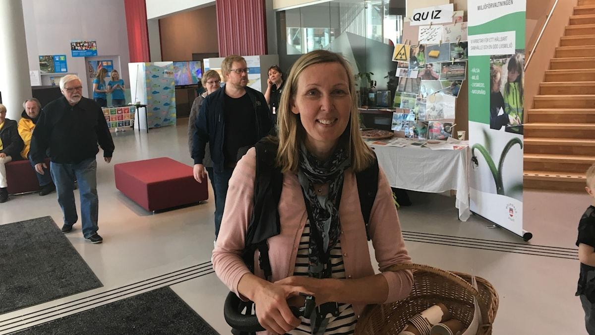 Carina Holmberg, miljösamordnare i Mölndal.