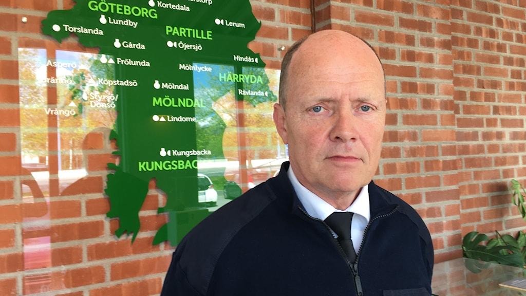 Lars Klevensparr är kritisk till att det inte skapas fler utbildningsplatser.