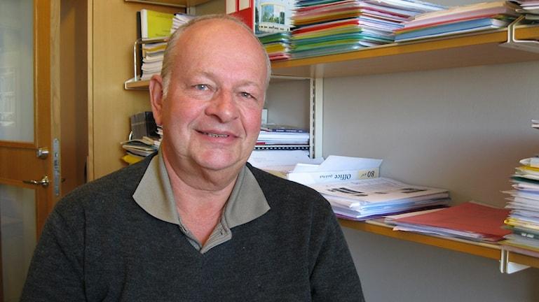 Ove Krafft, forskare vid Handelshögskolan i Göteborg. Foto: Emma Svensson /SR.