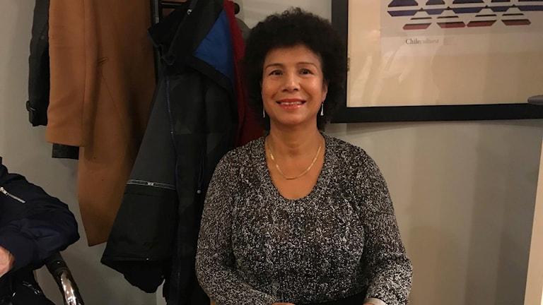Marilyn Pettersson åkte från Malmö till Göteborg för att rösta i det chilenska valet.