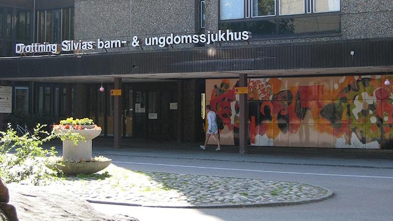 Drottning Silvias barn- och ungdomssjukhus.