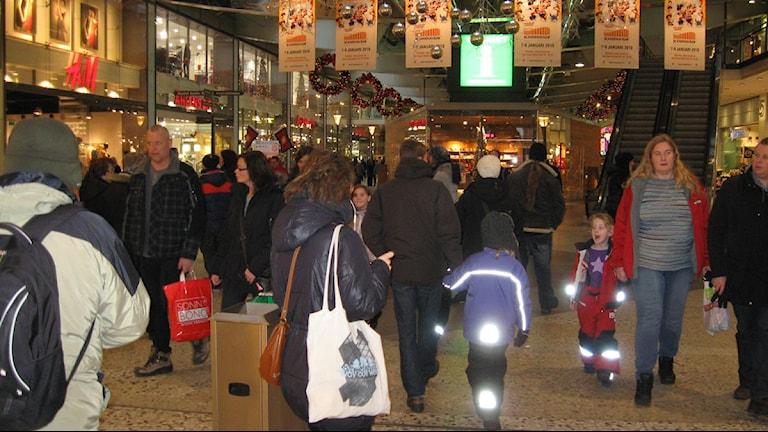 Julshopping i Nordstan 2010