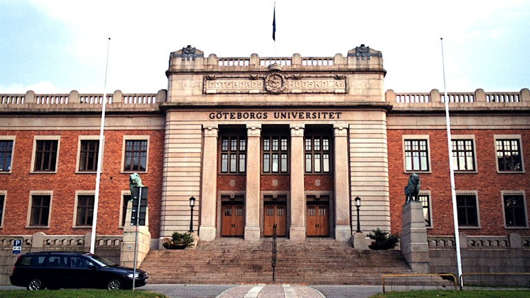 Göteborgs Universitet. Foto: Fredrik Persson/Scanpix.
