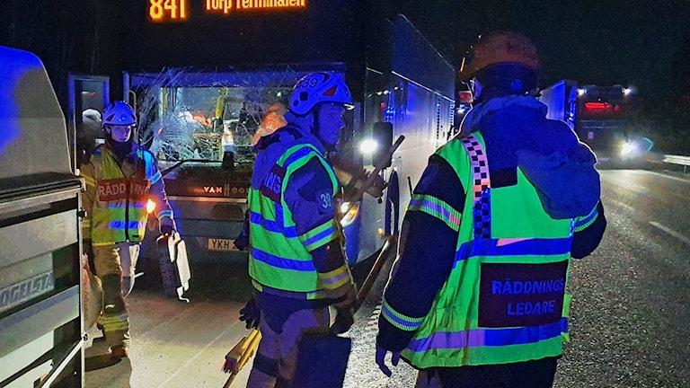 Dubbla busskrockar i Stenungsund – P4 Göteborg