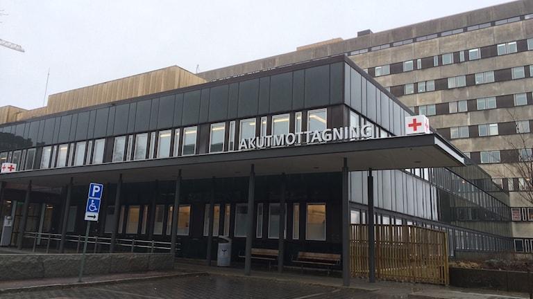 Akutmottagningen på Östra sjukhuset.
