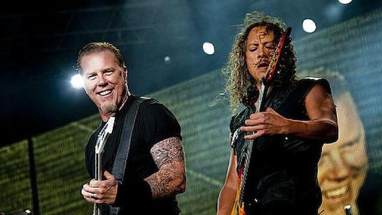 Metallicas konsert på Ullevi lockade besökare från när och fjärran. Foto: Adam Ihse/Scanpix.