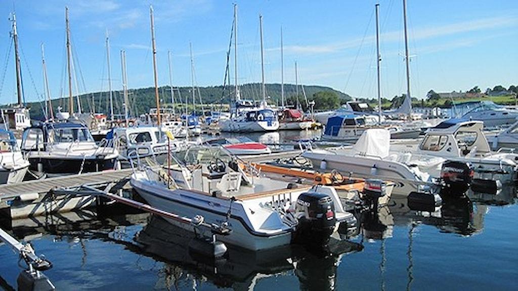 Båthamn