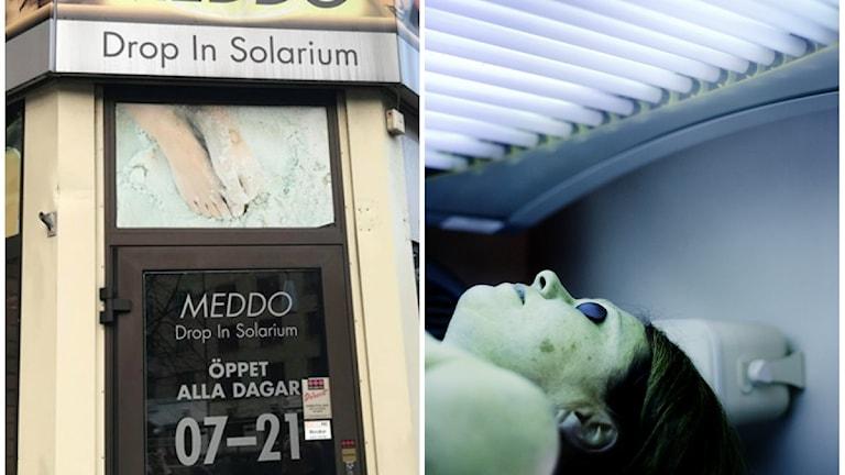 Från och med den 1:a September blir det förbjudet för minderåriga att sola solarium.