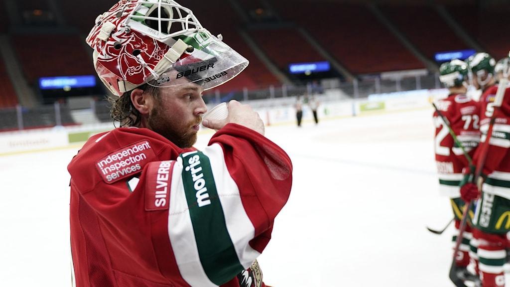 Hockeymålvakt i Frölunda.