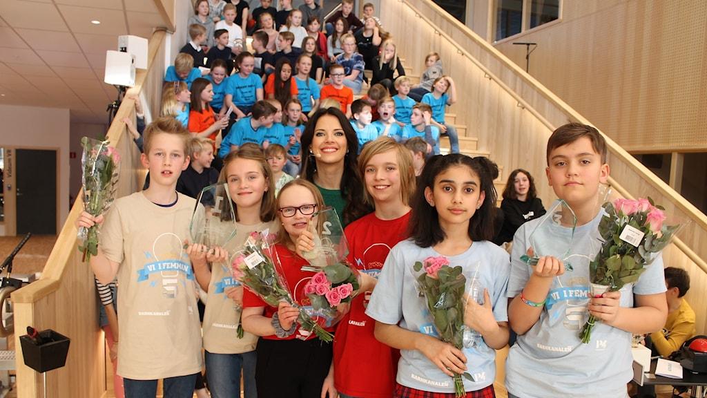 Alla vinnarlagen i Vi i femmans riksfinal 2019.
