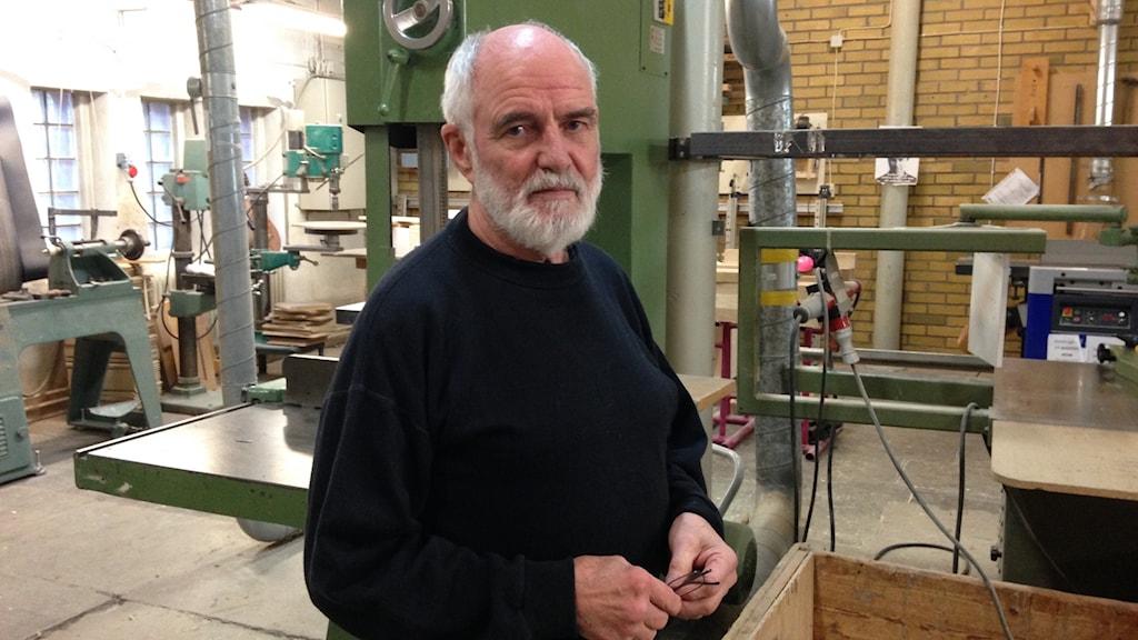 Walter Ruth, ordförande för Konstnärernas Kollektivverkstad.