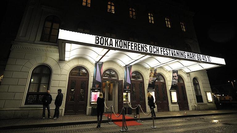 Stora Teatern. Foto: Fredrik Sandberg/Scanpix.