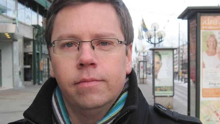 Mattias Jonsson (S) Foto: Gustav Sandström/SverigesRadio