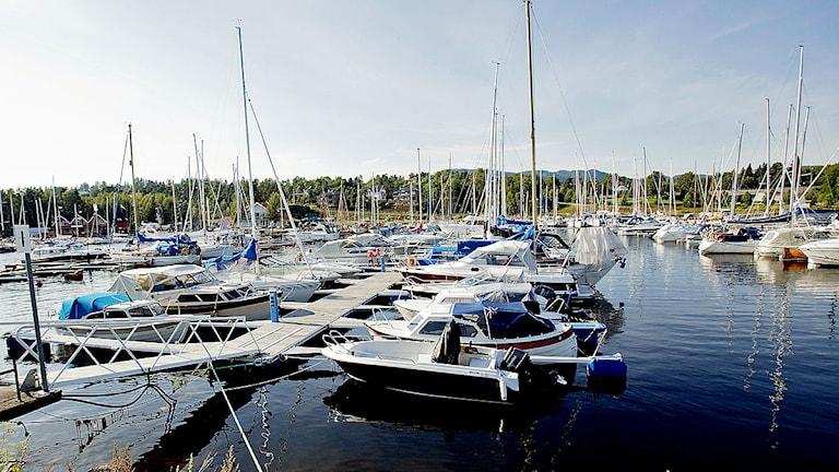 Fritidsbåtar i hamn. Stian Lysberg Solum / Scanpix