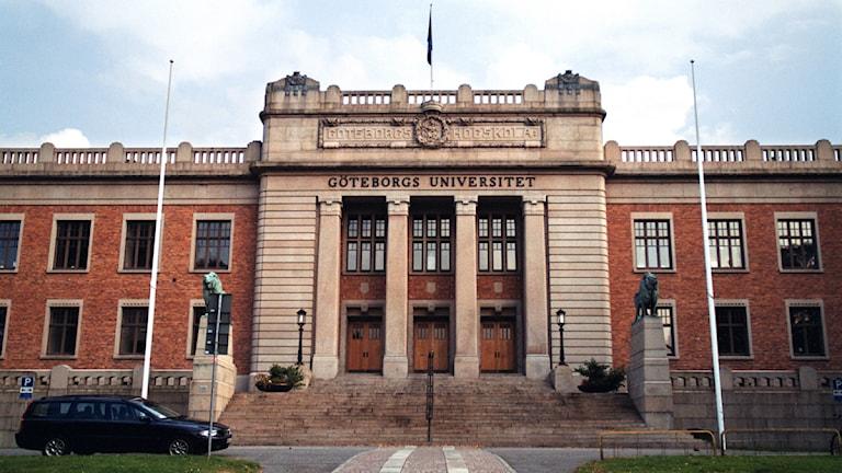 Göteborgs universitet, vid Vasaplatsen. Foto: Fredrik Persson/Scanpix