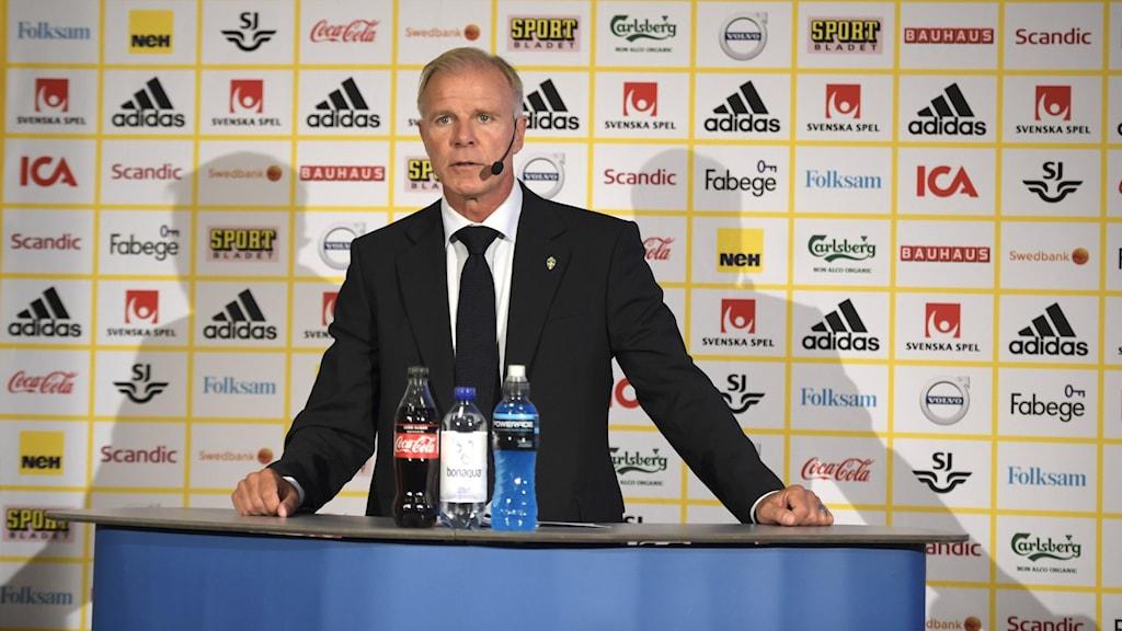 U21-landslagets förbundskapten Roland Nilsson