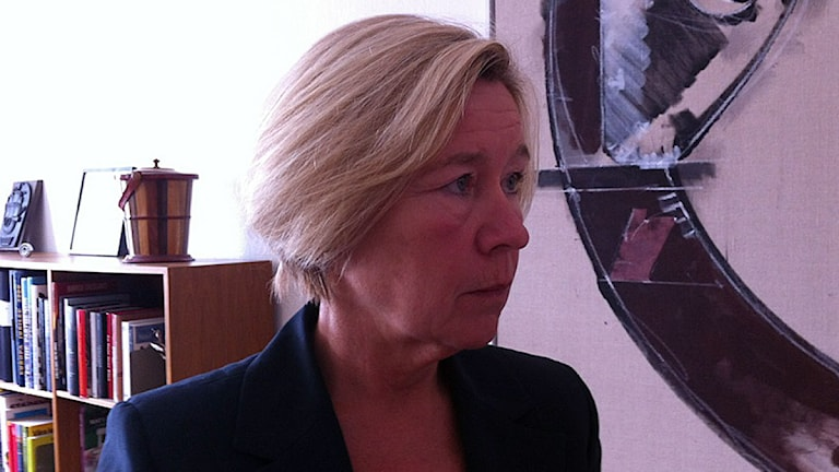 Anneli Hulthén (S) Foto:  SR Göteborg
