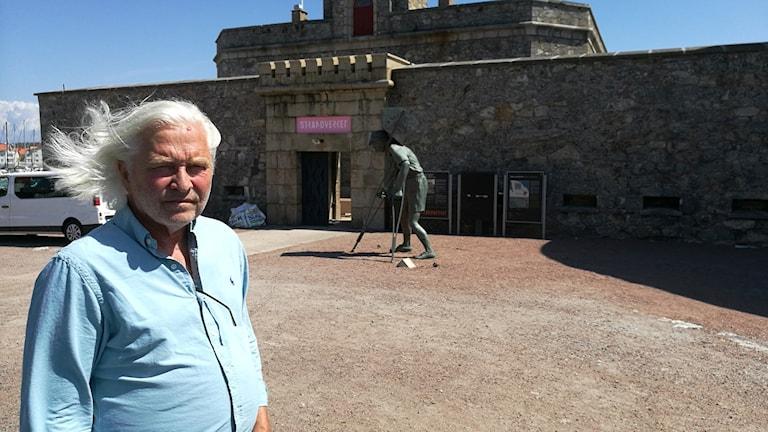 Pål Svensson, konstnärliga ledare på Strandverket i Marstrand.