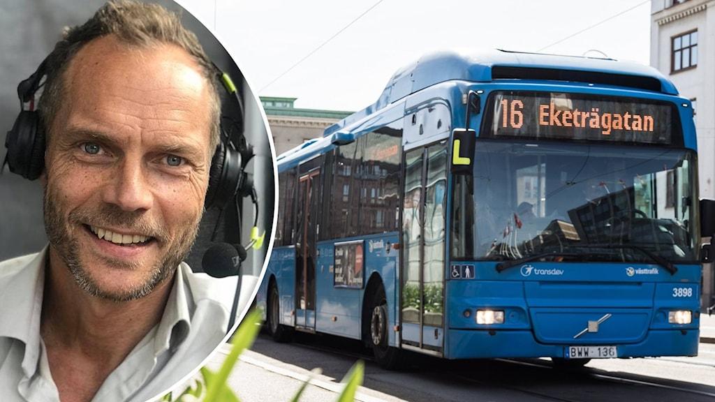 Västtrafiks VD och buss