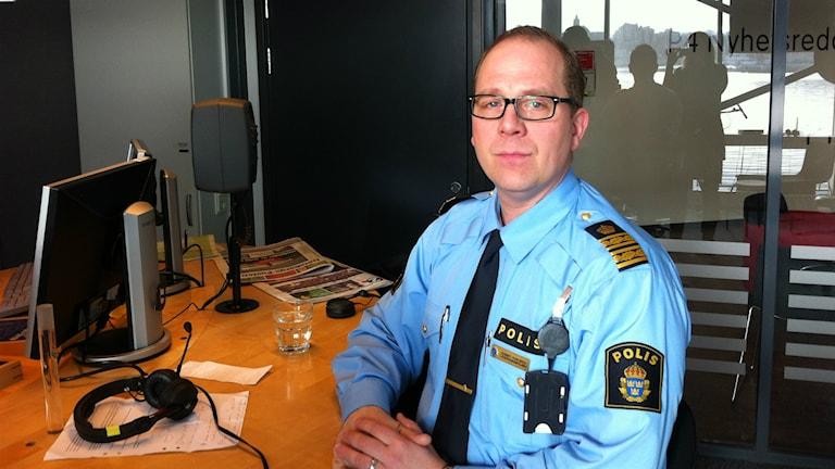 Robert Karlsson länspolismästare ordningspolisen