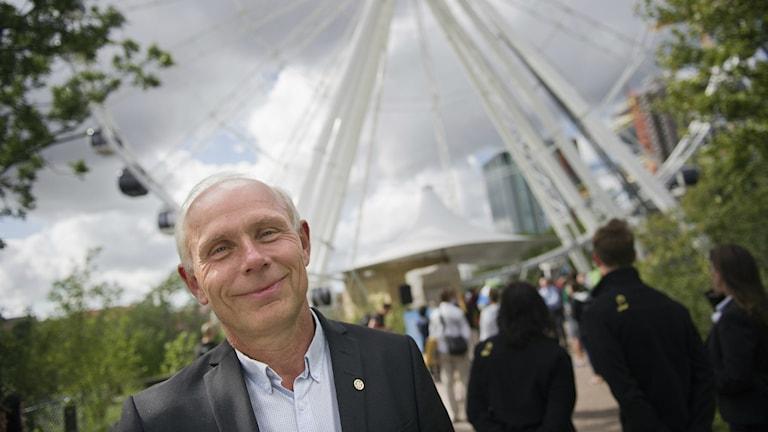 Dennis Andersson klubbdirektör Häcken på uppdraget som generalsekreterare för Gothia Cup.