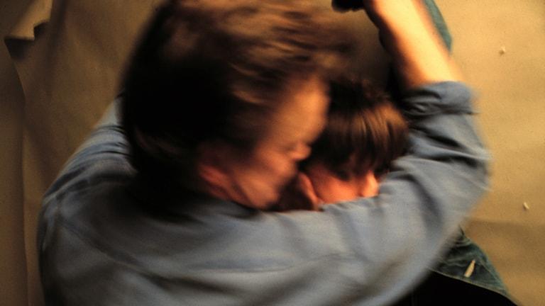 Kvinnomisshandel misshandel slagen slår