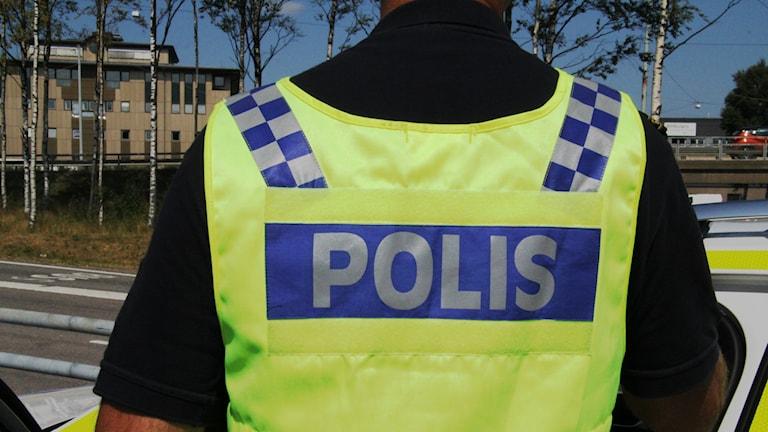 Polis polisen väst polisväst trafikkontroll alkoholkontroll