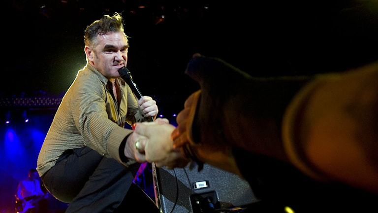 Den brittiske sångaren och låtskrivaren Morrissey kommer till Göteborg i höst. Foto: Björn Larsson Rosvall