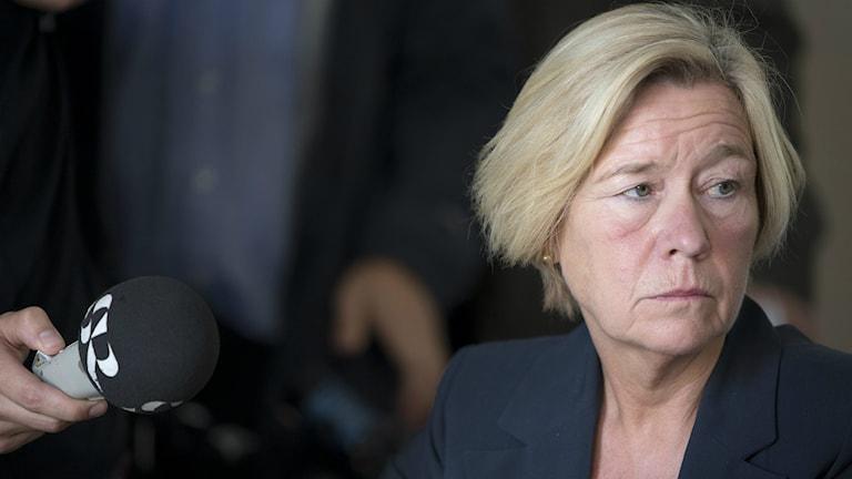 Anneli Hulthén, socialdemokratisk ordförande Kommunstyrelsen i Göteborg
