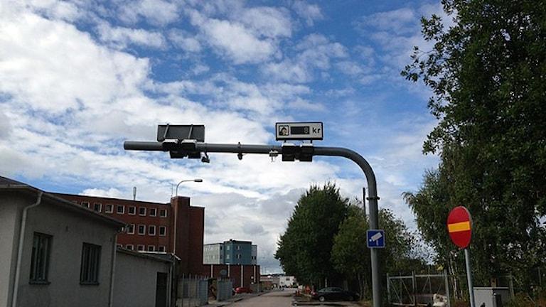 Trängselskattpassage i Göteborg