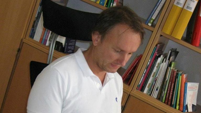Robert Hammarstrand (S). Foto: Roger Blomqvist/Sveriges Radio.