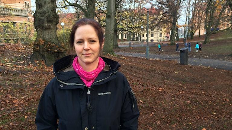 Malin Jönsson lärarförbundet. Foto: Hugo Hellman/Sveriges Radio