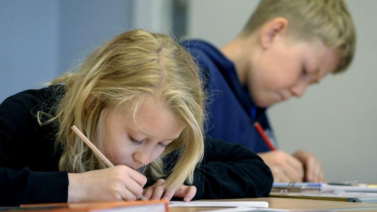Göteborgspolitiker säger nej till betyg i fjärde klass.  Foto: Janerik Henriksson / TT