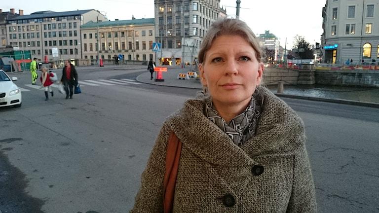 Folkteaterns VD Anna Rosengren blir ny kulturchef i Göteborg. Foto Ivar Huntington/SR