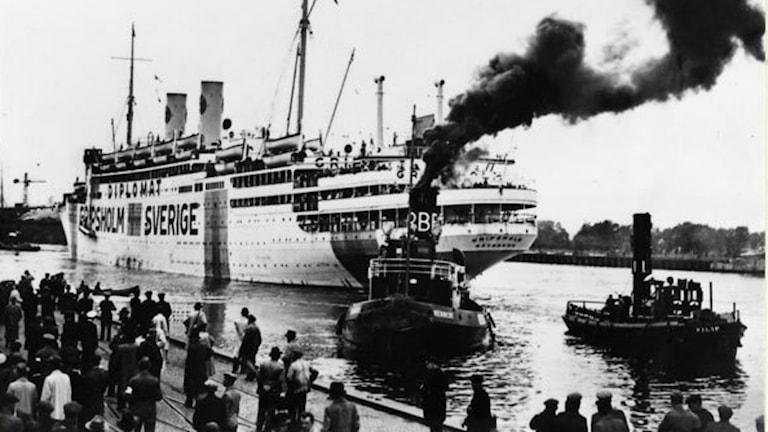 Svenska Amerika Liniens fartyg Gripsholm