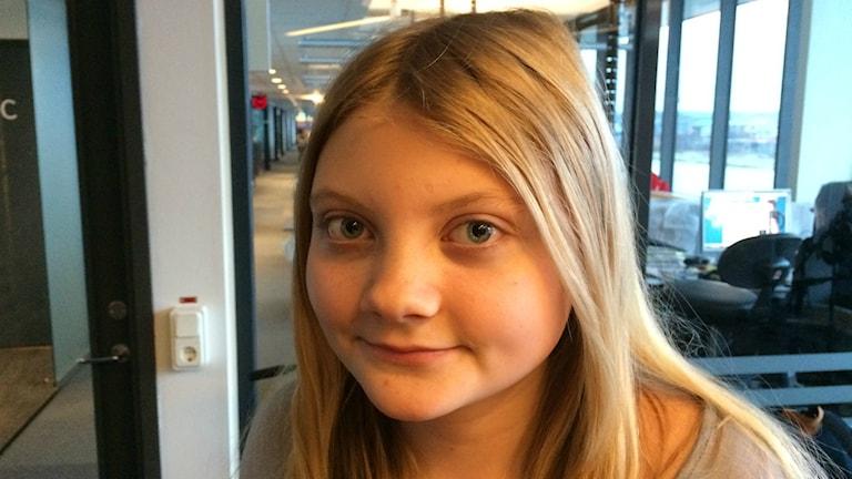 Maja Ljung. Foto: Peo  Wennander/Sveriges Radio