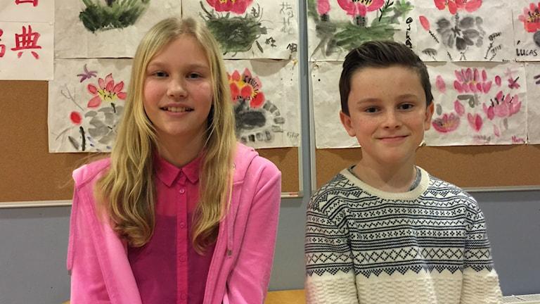 Emma Johansson och Albert Öster är redo för Vi i femman.
