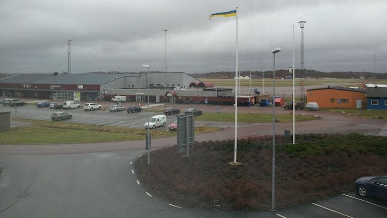 Säve flygplats. Foto: Nina Sjöman/SR