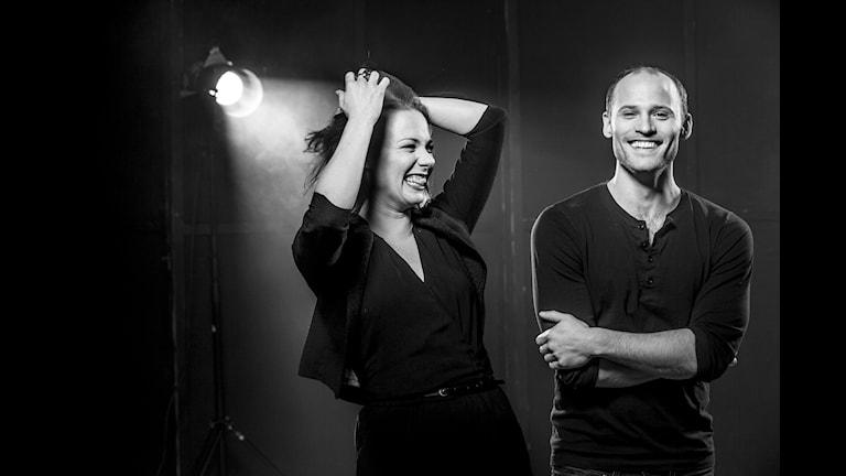Musikalen Crazy for you, Jenny Holmgren  och Denny Lekström har huvudrollerna. Foto: Mats Bäcker.