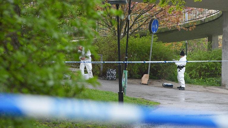 Brotten minskar men otryggheten ökar.Foto: Johan Nilsson / TT