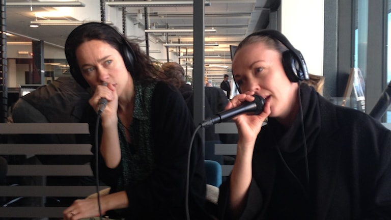 Midaircondo bestående av Lisen Rylander Löve och Lisa Nordström. Foto: Madeleine Blidberg
