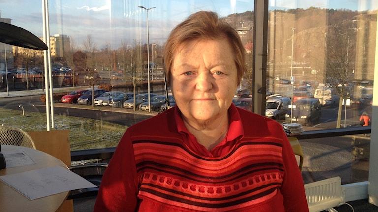 Veterinär Inger Carlsson. Foto Madeleine Blidberg