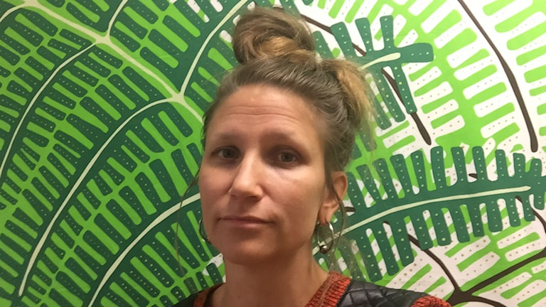Anna Ryding, fritidsledare på Svartedalsskolan.