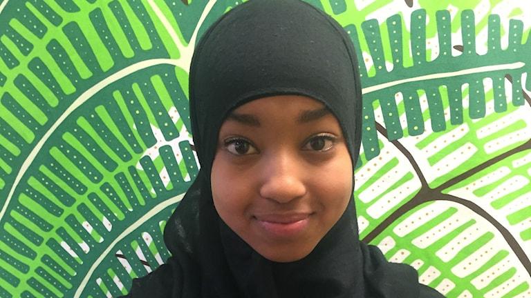 Samira Osman elev Svartedalsskolan