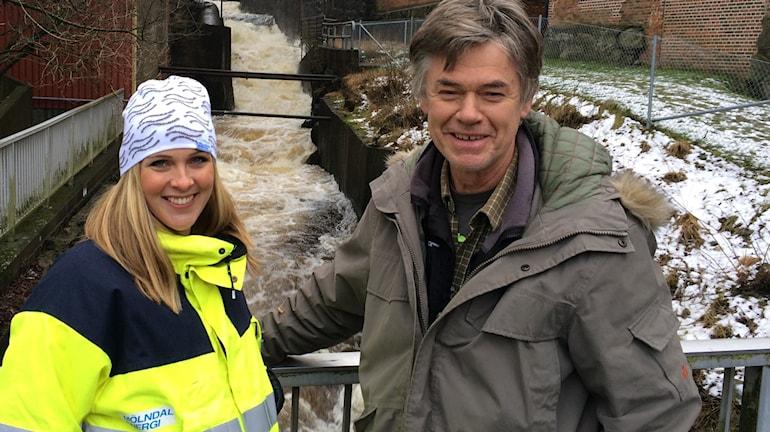 Sofia Hauptmann och Stefan Larsson Foto: Hasse Andersson