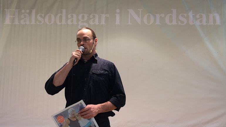 Benny Hald Mässansvarig Foto: Hasse Andersson